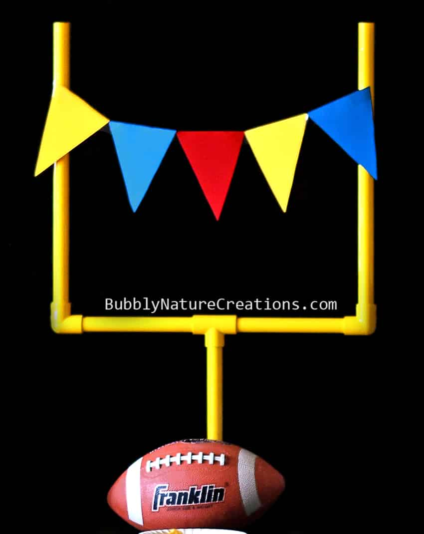 Goal Post Football Party Decoration!  #cbias #shop #OneBuyForAll