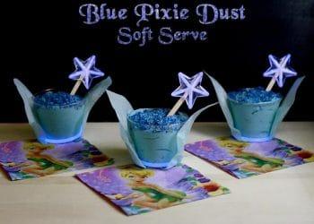 Blue Pixie Dust Soft Serve!