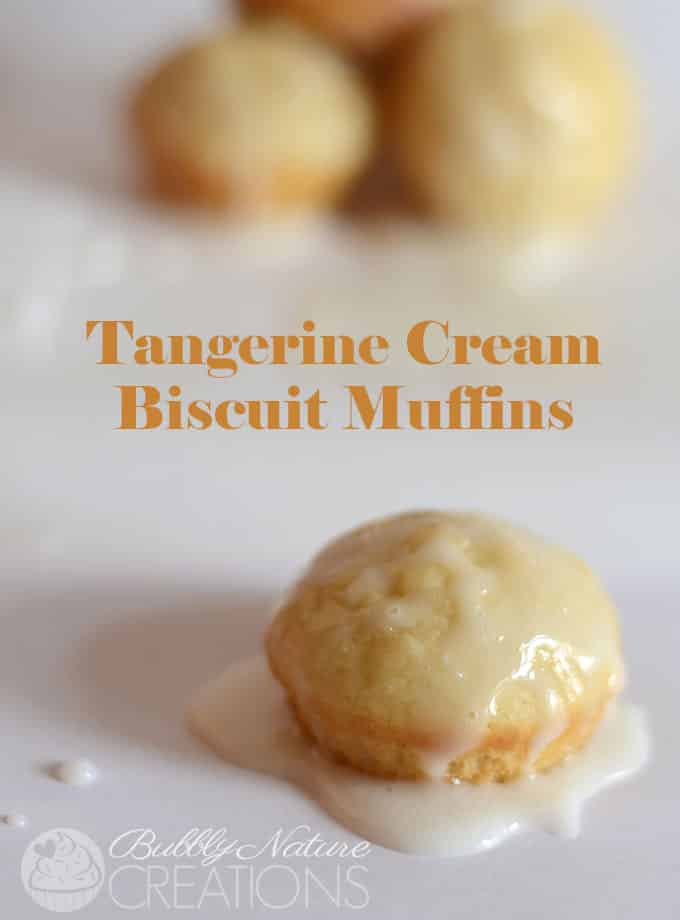 Tangerine Cream Biscuit Muffins.  Fast and easy using  baking mix and Juicy Juice!  #UltimatePlaydate  #shop