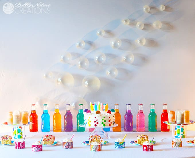 Pop Party!!!  Soda Pop themed party perfect for boys or girls!  All the treats are made with some kind of Pop!  Too Cute!!