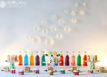 Pop Party!  Soda Pop themed party perfect for boys or girls!  Everything was made with the pop theme in mind
