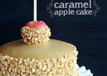 Caramel Apple Cake!