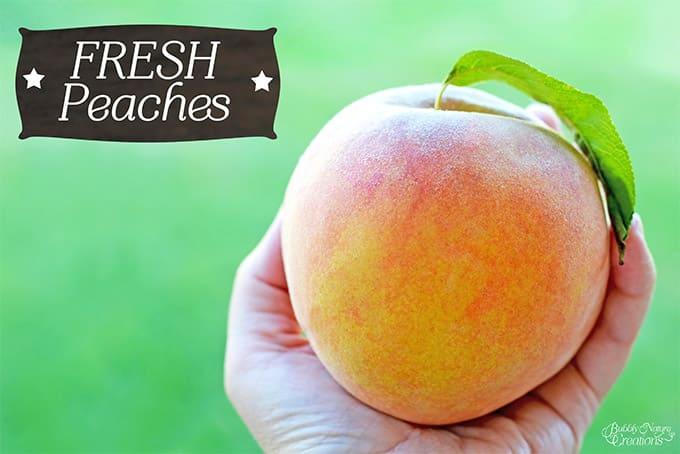 Farmers Fresh Peach! #WalmartProduce #ad