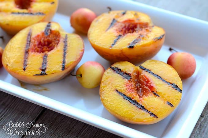 Grilled Peaches! #WalmartProduce #ad