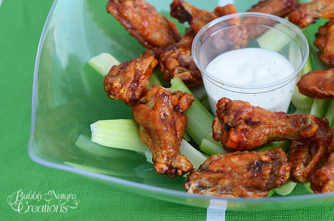 Hot Wings with Kraft Ranch! #GameTimeHero #ad #cbias