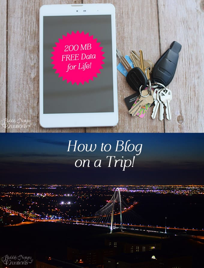 How to blog on a trip!!!