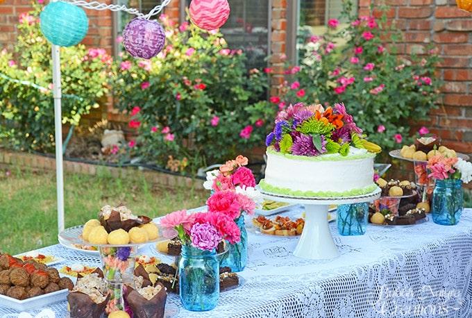 Summer Fun Garden Party!  Throw a fun summer celebration!
