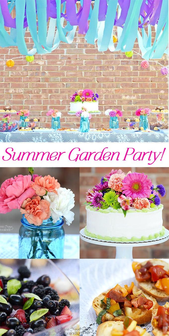 Summer Garden Party Bright And Fun Outdoor Party Ideas