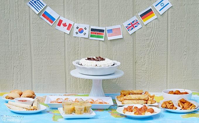 Tastes Around the World Party! !!
