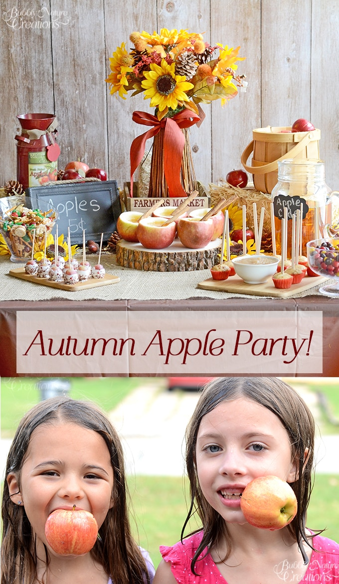 Autumn Apple Party!  Fun Apple party with apple themed food and games!! #FlavorofFall #CollectiveBias #shop
