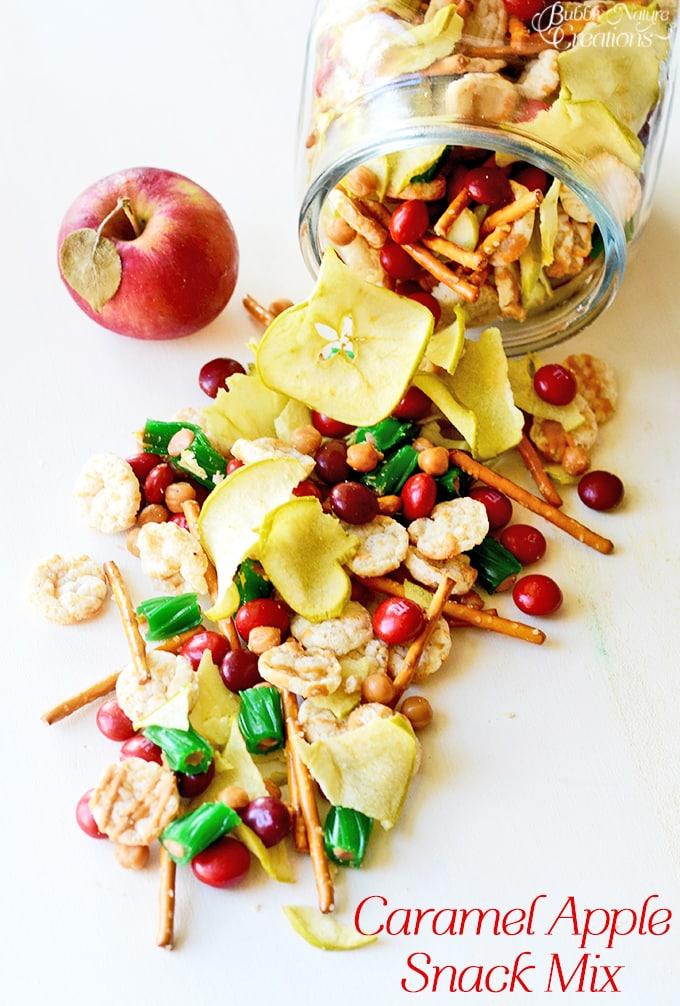 Caramel Apple Snack Mix!