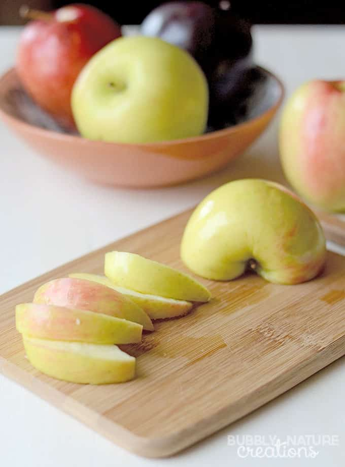 3 Ingredient Creamy Caramel Apple Dip Walmart Produce Apples! #WalmartProduce #ad