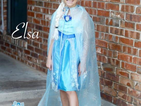 DIY Disney FROZEN Elsa No-Sew Cape with train!