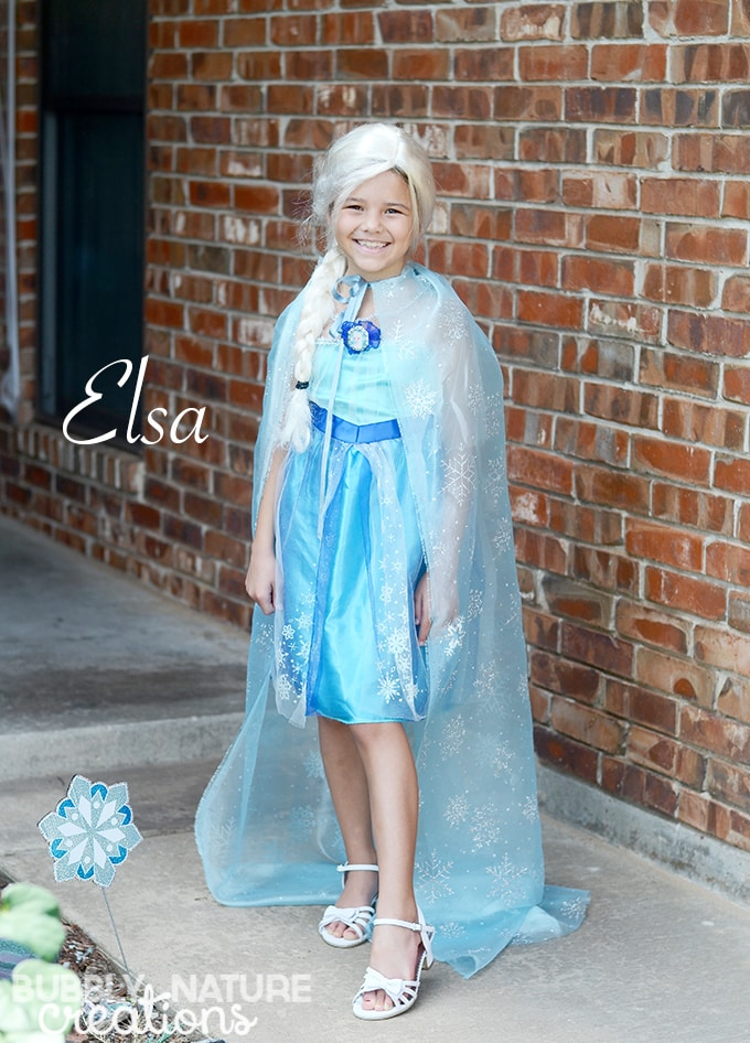 Elsa Cape for a Custom look!