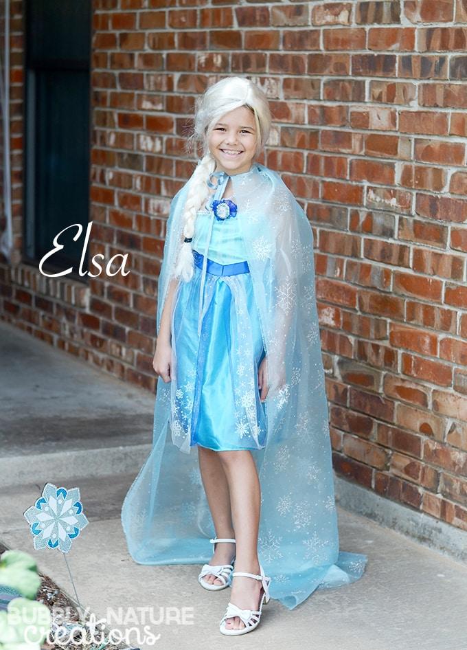 Elsa Cape for a Custom look!