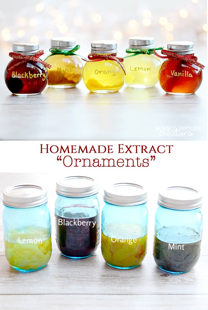 Homemade extract ornaments easy christmas gift for Useful gifts to make