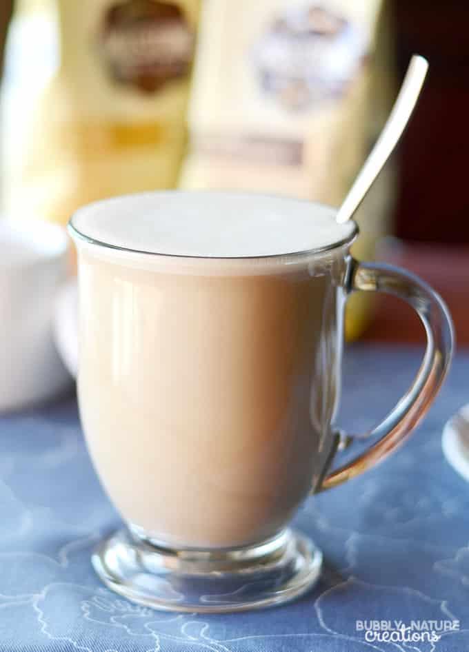 Millstone Coffee with Almond milk!