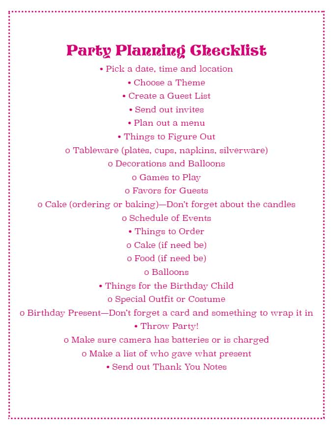 Party Planning Checklist!  #DisneyBeauties #CollectiveBias #shop