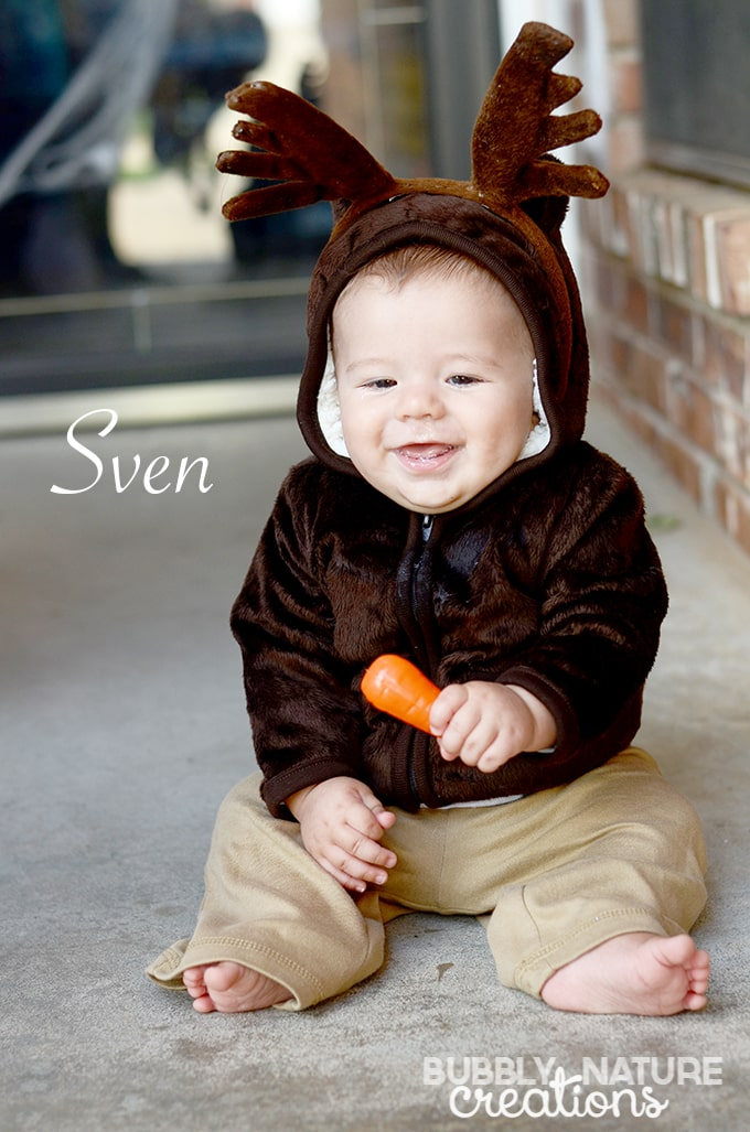 Sven Easy Costume for infants!