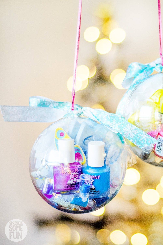 Nail Kit Ornaments DIY Christmas Gift for girls
