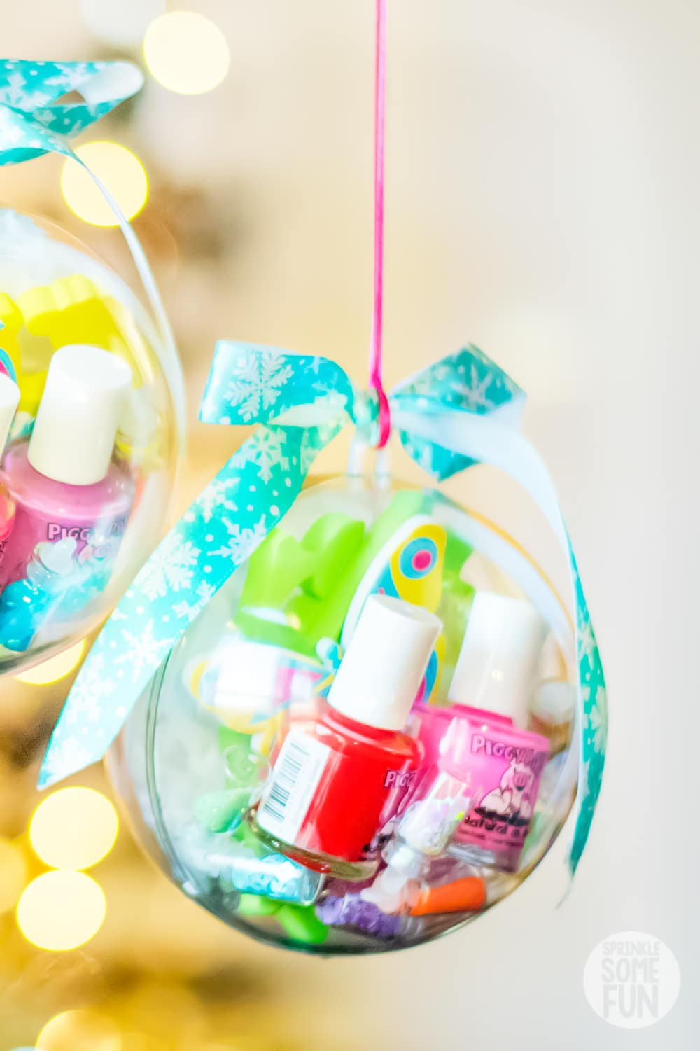 Christmas Gift Ideas For Friends Girls.Nail Kit Ornaments Diy Christmas Gift For Girls
