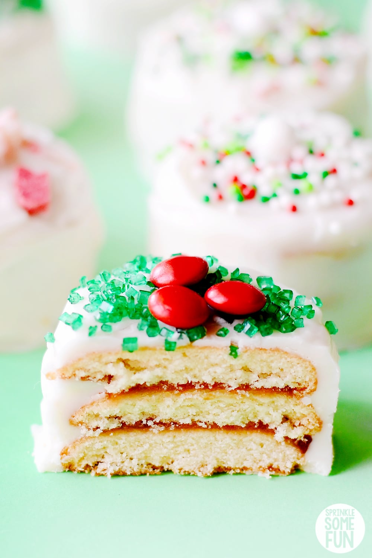 Nilla Holiday Cake Bites