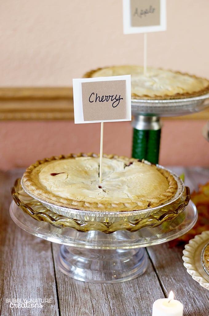 Pie Parfait Bar! A Fun Party Idea!  #ThankfullySweet #ad
