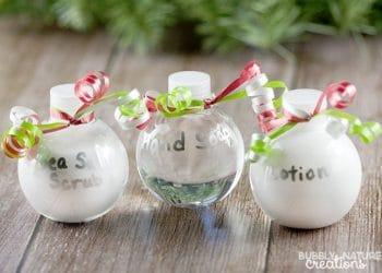 DIY Bath and Body Ornaments!