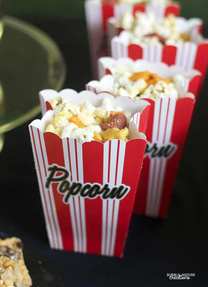 Goldfish Cracker Cheddar Popcorn
