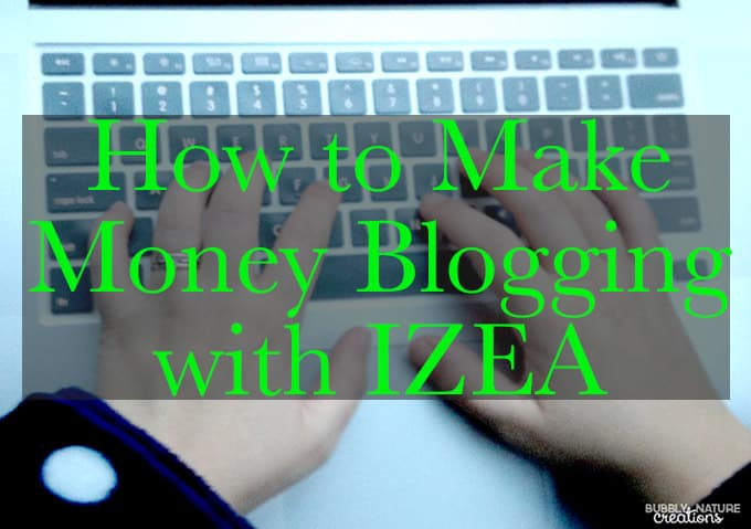 Make Money Blogging with IZEA!