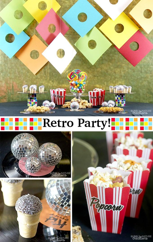 Retro Party!!
