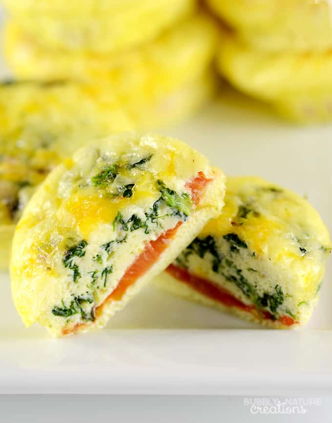 12 Easy Make Ahead Breakfast Muffins! Cheesy and delicious!