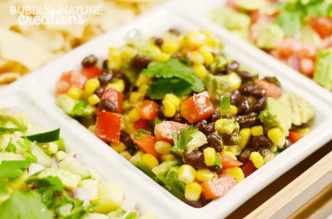 Black Bean, Corn and Avocado Salsa!