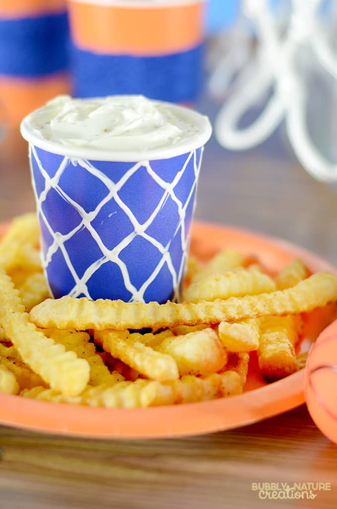 Alexia Crinkle Cut Fries with Tangy Italian Herb  Dip