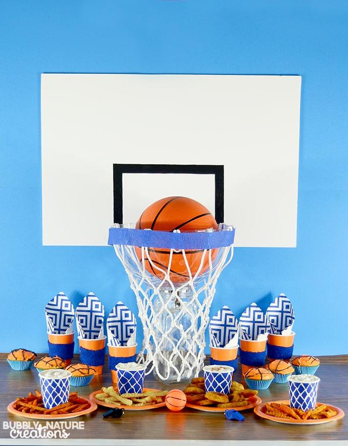 Slam Dunk Basketball Party Easy Party Ideas Sprinkle