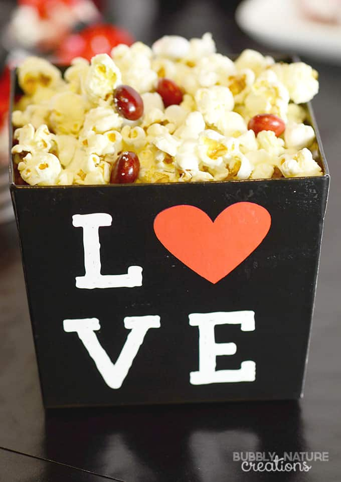 Valentine Party Popcorn!