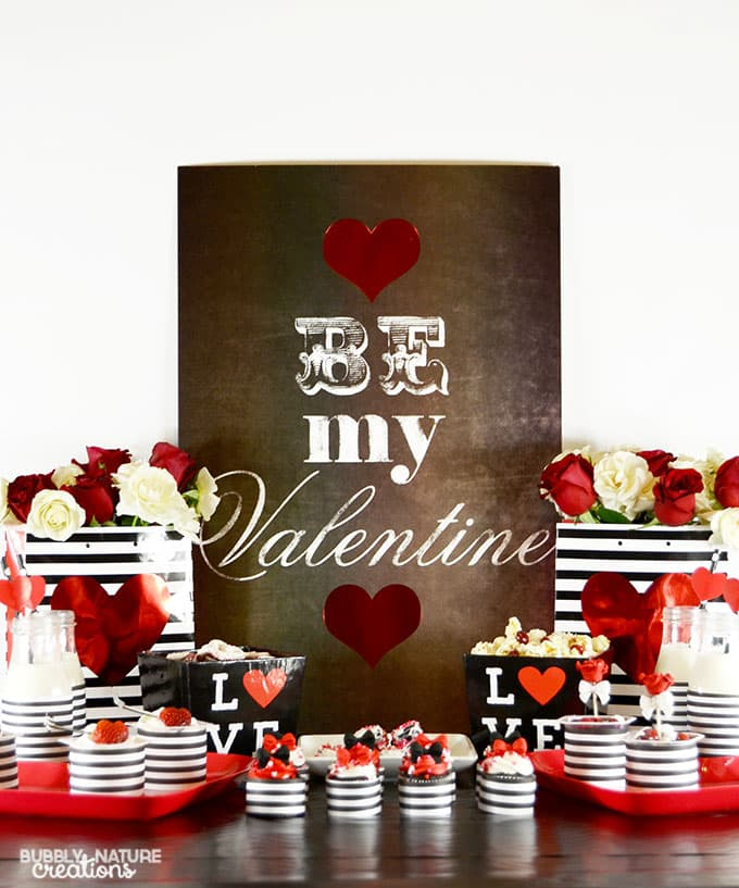 Valentine's Day Party with Easy Dessert Ideas!