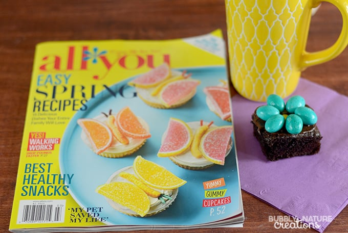 All You Magazine and Brownies!