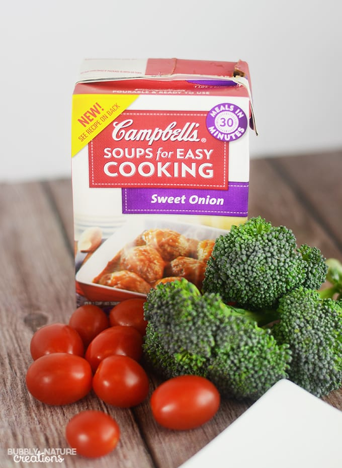 Campbell's Soups for Easy Cooking Sweet Onion