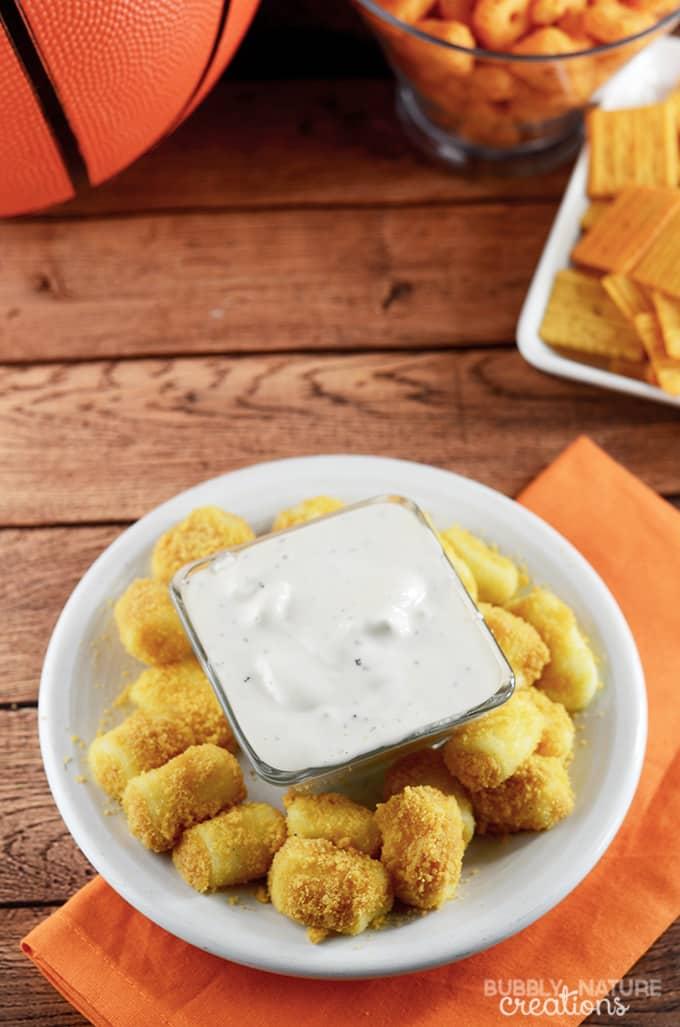 Cheddar Ranch Cheese Bites!!