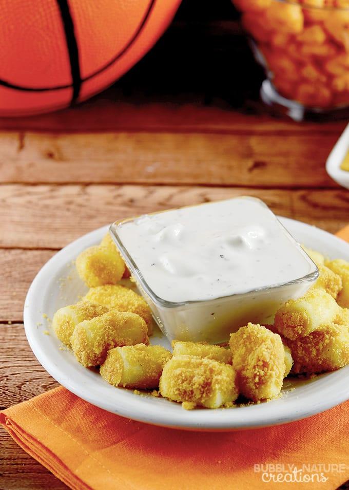 Cheddar Ranch Cheese Bites!