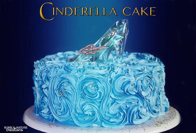 Cinderella Cake! Such a beautiful cake! Looks like it stepped out of the movie!