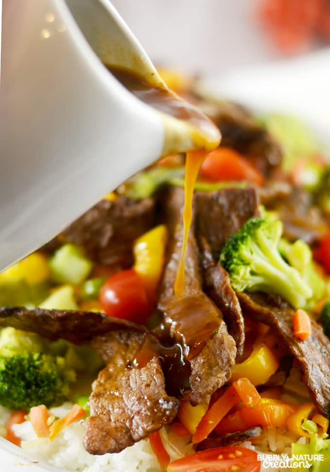 Easy Beef Teriyaki with Roasted Vegetables! Easy & Delicious Weeknight Meal idea