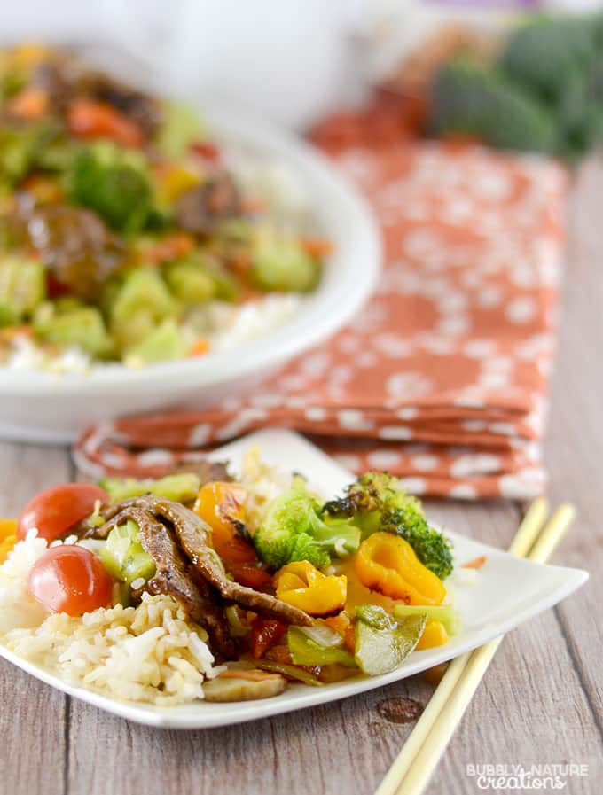 Easy Beef Teriyaki with Roasted Vegetables!. Easy & Delicious Weeknight Meal idea