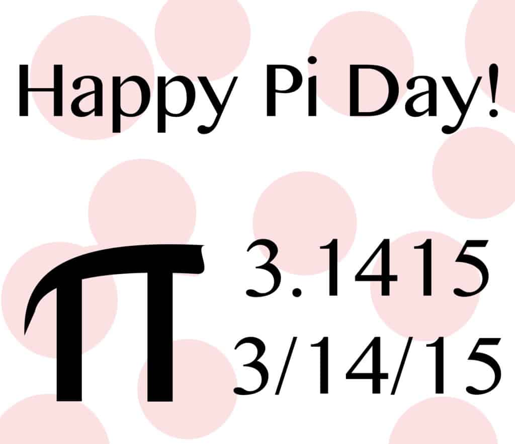 "... blogs to get some more ""pie-spiration""! Have a great Pi Day"