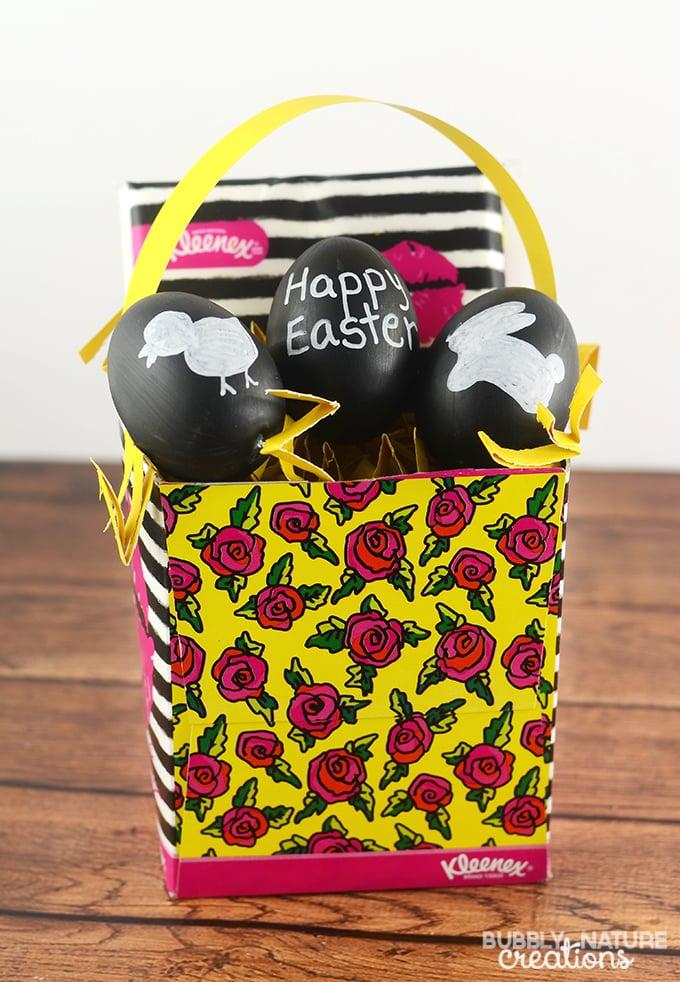 Kleexex Box Easter Basket!  #KleenexBetsyStyle #ad