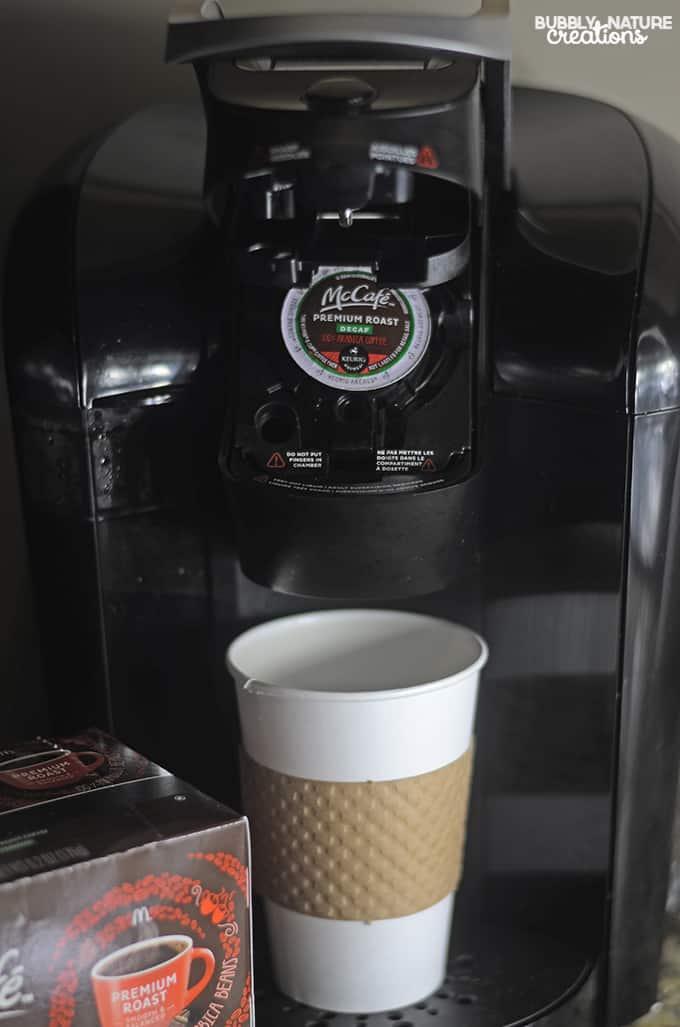 McCafe in Keirug machine