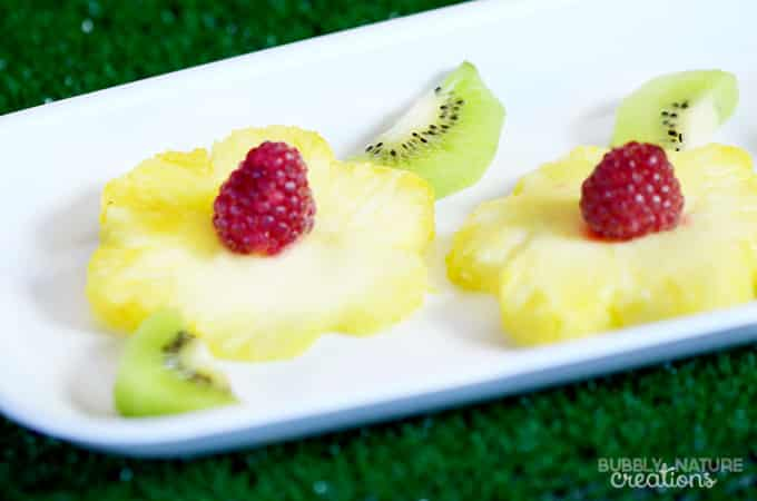 Pineapple Raspberry and Kiwi flowers!