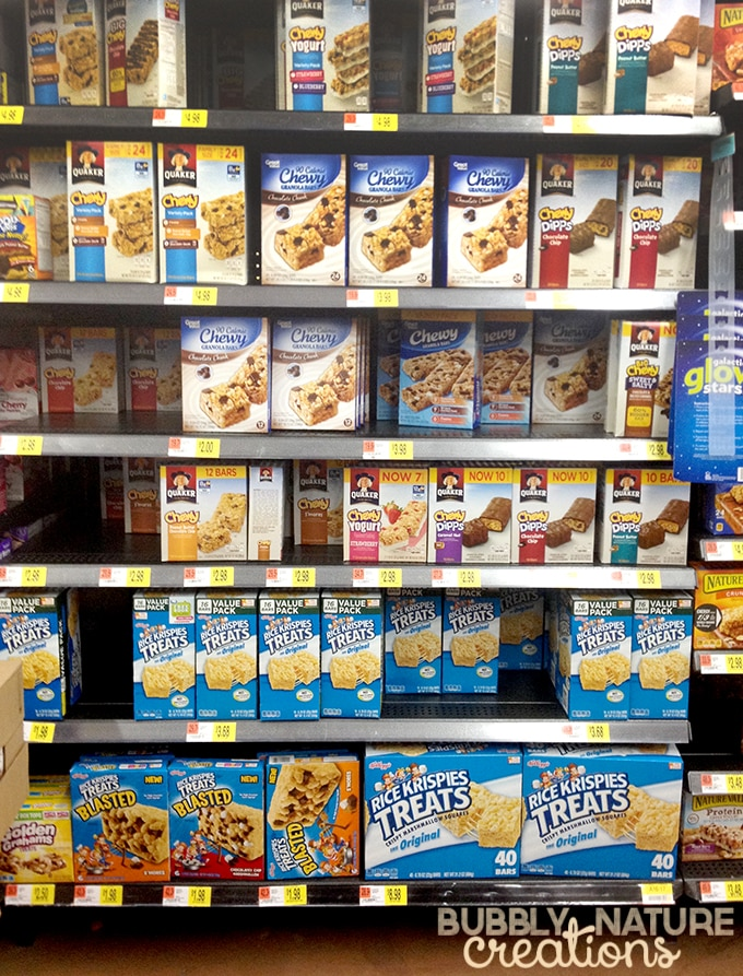 Rice Krispies Treats at Walmart