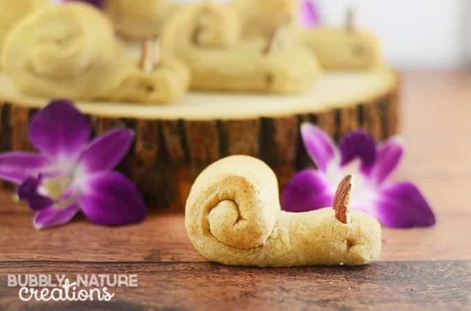 Snail Rolls! Easy Bread Recipe that is fun for kids!